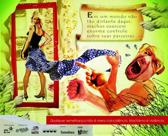 peça II - machismo é violencia 2